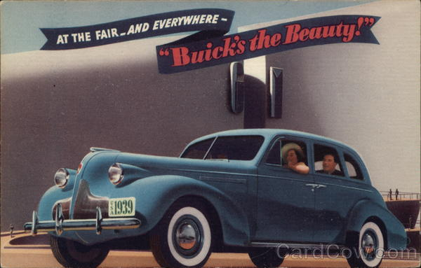 At the Fair - and Everywhere - Buick's the Beauty!
