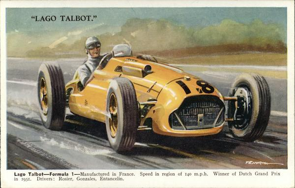Lago Talbot, Formula 1, Manufactured in France Auto Racing