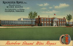Rochester Ropes, Inc Postcard