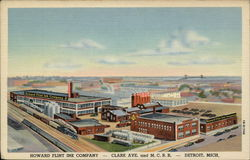 Howard Flint Ink Company Postcard