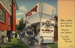 Superior Fuel, Superior Stoker Coal It's Better Delivered the Superior Way from Truck to Bin