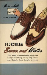 Florsheim Brown and Whites