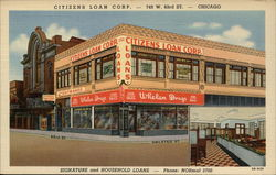 Citizens Loan Corp Postcard