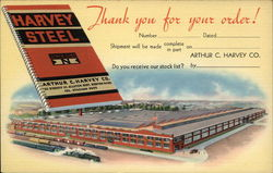 "Arthur C. Harvey Co Boston - ""Harvey Steel"""