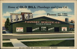 Home of Old Bill Plumbago and Core Oil