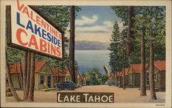 Valentine's Lakeside Cabins - Lake Tahoe