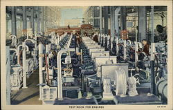 The Caterpillar Factory, Test Room for Engines