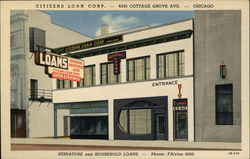 Citizens Loan Corporation Postcard