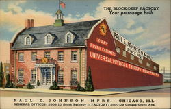Paul E. Johnson Manufacturers PEJ Postcard
