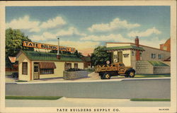 Office and Entrance of the Tate Builders Supply Co
