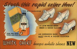 Stock This Rapid Seller Now! White Chief Keeps White Shoes New