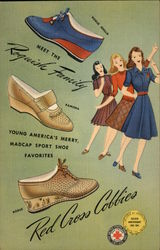 Young America's Merry, Madcap Sport Shoe Favorites, Red Cross Cobbies