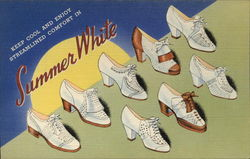 Summer White Shoe Advertising