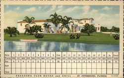 Pasadena Golf Course Club House and Grill Postcard
