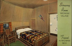 Sleeping Room, Wigwam Village