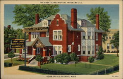 The Great Lakes Mutual Insurance Co. - Home Office Postcard