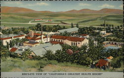 Bird's-Eye View of California's Greatest Health Resort, Guenther's Murrieta Mineral Hot Springs