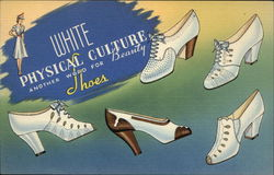 White Physical Culture Shoes