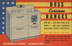 BOSS Kerosene Ranges