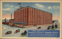 New Home of Leggett & Platt Spring Bed and Mf'g Co