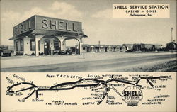 Shell Service Station Cabins - Diner