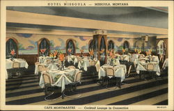 Cafe Montmartre in the Missoula Hotel