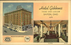 Hotel Gibbons - Third and Ludlow - 400 Rooms - Fireproof
