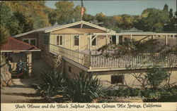 Bath House and the Black Sulphur Springs