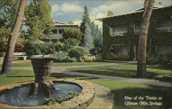 One of the Patios at Gilman Hot Springs