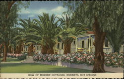 Row of Modern Cottages, Murrieta Hot Springs