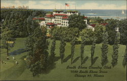 South Shore Country Club Postcard