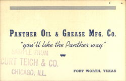 Panther Oil & Grease Mfg. Co