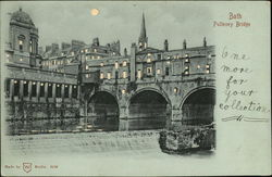 Pulteney Bridge Postcard