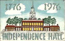 Independence Hall, 1776, 1976
