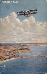 Handley Page Air Service London - Paris - London