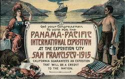 Get Your Congressmen to Vote for the Panama-Pacific International Exposition
