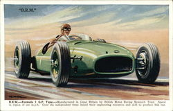 B.R.M. - Formula 1 G.P. Type - Manufactured in Great Britain by British Motor Racing Research Trust