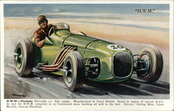 H.W.M. Formula 11 - 1960 c.c. Alta Entine. Manufactured in Great Britain. Speed in Region of 130-