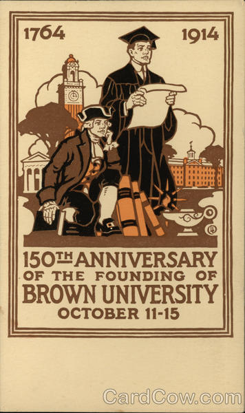 Brown University 1764 - 1914 Providence Rhode Island