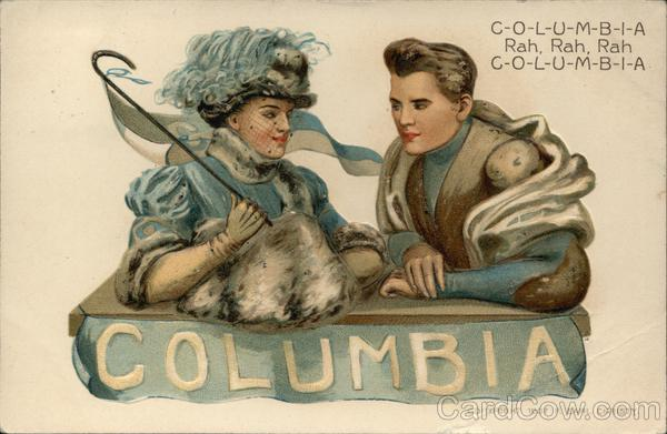 Columbia University College Girls F. Earl Christy