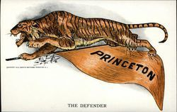 Princeton University Tiger and Pennant