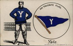 Yale University Sportsman & Embroidered Pennant