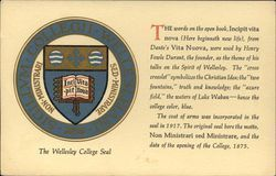 The Wlleseley College Seal