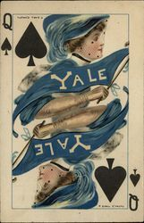 "Yale College Girl ""College Queens"" Spades"