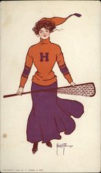 Harvard College Girl Lacrosse