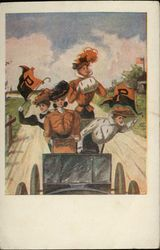 Princeton University Girls in Jalopy