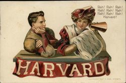 Harvard University Couple