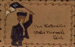 The Kirksville State Normal Girl Hand Embellished