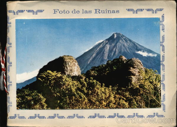 Souvenir Folder: Set of 12 Chrome Postcards from Antigua