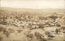 12th Infantry Camp Little June 15, 1914 Mexican Revolution